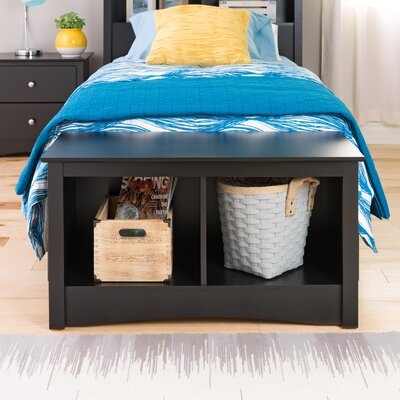 Legrand Storage Bench Color: Black