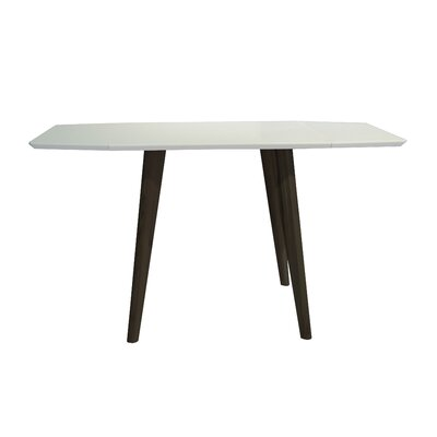 Schillinger Dining Table Base Color / Top Color: Brown Oak / Matte White