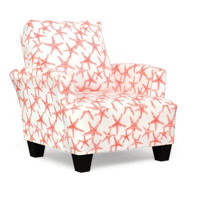 Mullins Accent Armchair Upholstery: Sea Friends Salom Slub