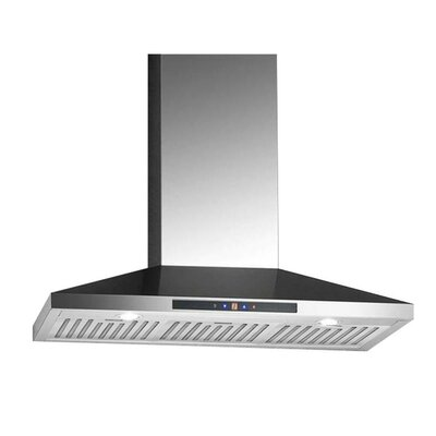 "36"" 500 CFM Convertible Wall Mount Range Hood"