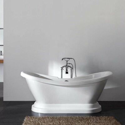 "Charlotte 69"" x 27"" Freestanding Bathtub"