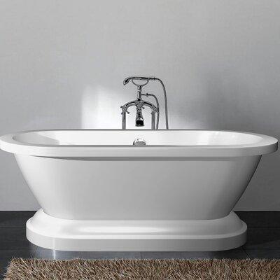 "Delaney 67"" x 23.6"" Freestanding Bathtub"