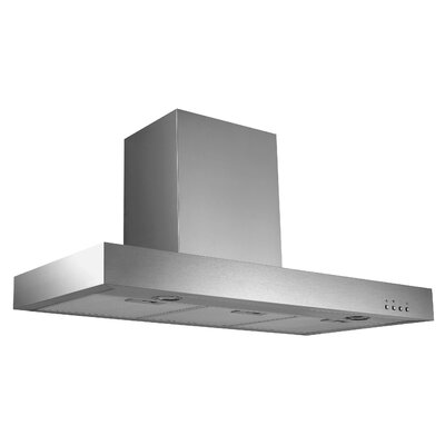 "36"" Ancona Rectangle Series 600 CFM Convertible Wall Mount Range Hood"
