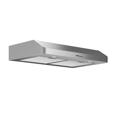 "30"" Slim Series 280 CFM Ducted Under Cabinet Range Hood"