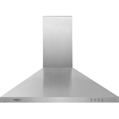 "30"" 520 CFM Ducted Wall Mount Range Hood"