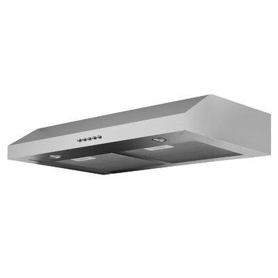 "30"" Slim 280 CFM Ducted Under Cabinet Range Hood"