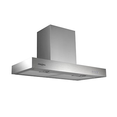 "30"" Forza 380 CMF Convertible Wall Mount Range Hood Size: 3.13"" H x 30"" W x 19.63"" D"