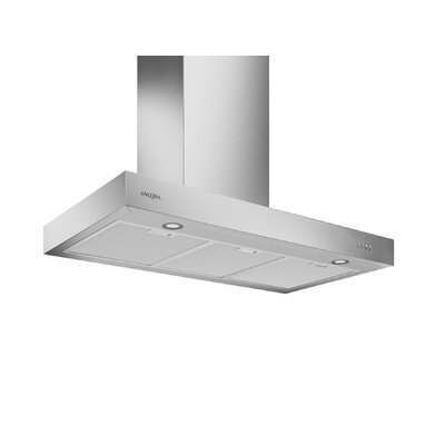 "30"" Forza 380 CMF Convertible Wall Mount Range Hood Size: 3.13"" H x 36"" W x 19.63"" D"