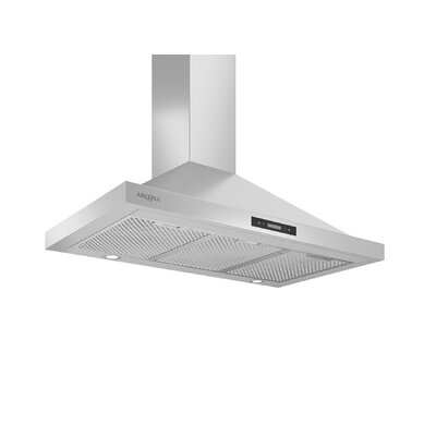 "36"" Convertible Pyramid 400 CFM Ducted Wall Mount Range Hood"