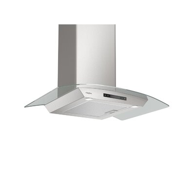 "30"" Convertible Glass Canopy 400 CFM Ducted Wall Mount Range Hood"