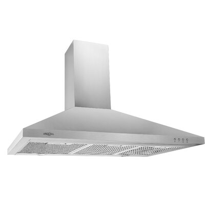 "36"" 520 CFM Ducted Wall Mount Range Hood"