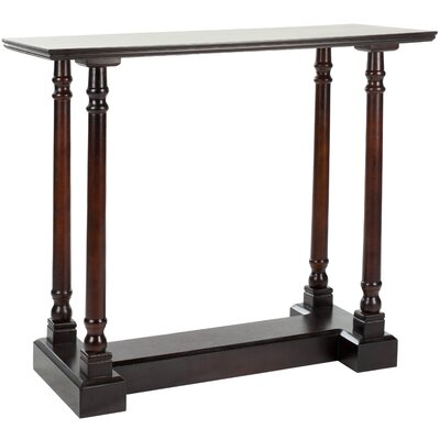 Grobbam Console Table Color: Dark Cherry