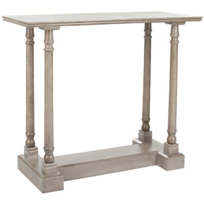 Grobbam Console Table Color: Vintage Grey