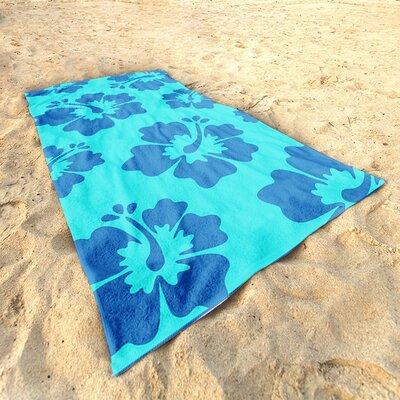 DeroTextil Hibiscus Beach Towel