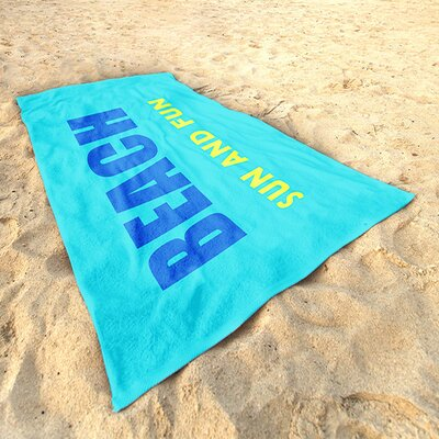 DeroTextil Sun and Fun Beach Towel