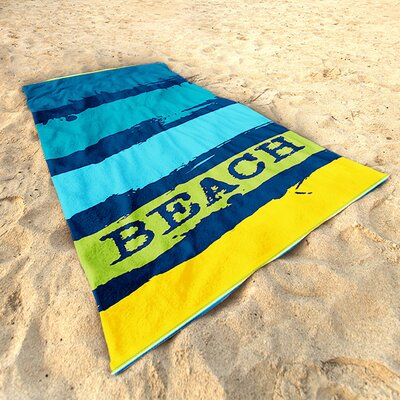 DeroTextil Painted Beach Beach Towel