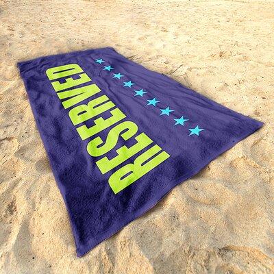DeroTextil Reserved Beach Towel
