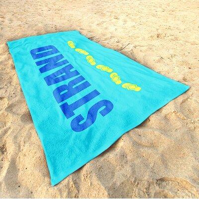 DeroTextil Strand-Walk Beach Towel
