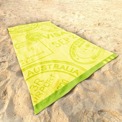 DeroTextil Travel Beach Towel