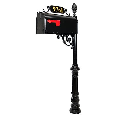Charleston Mailbox with Post Included