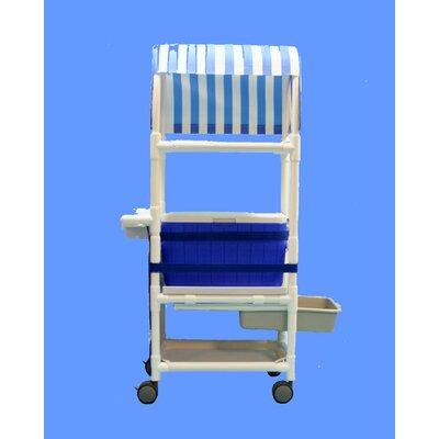 48 Qt. Hydration Rolling Ice Cart