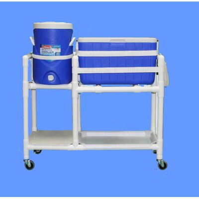 48 Qt. E-Line Hydration Rolling Ice Cart/Water Cooler