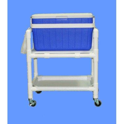 48 Qt. E-Line Hydration Rolling Ice Cart