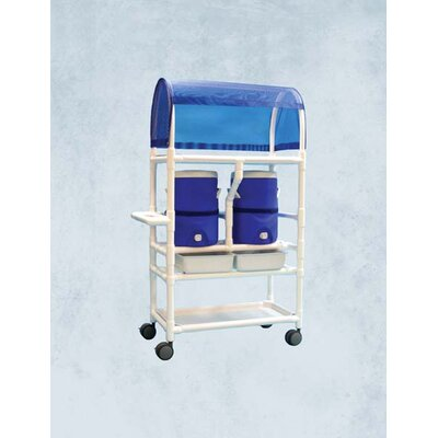 20 Qt. Hydration Rolling Cart Cooler