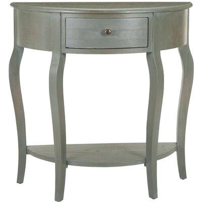 Benton Console Table Color: Ash Grey