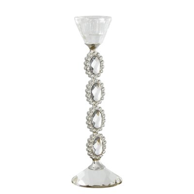 Fairmont Park Crystal Cut Glass Candlestick