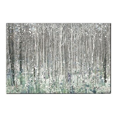 Fairmont Park Watercolour Woods Art Print on Canvas