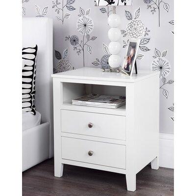 Fairmont Park Kingsbridge 2 Drawer Bedside Table