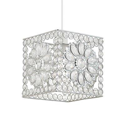 Fairmont Park Netter 1 Light Crystal Pendant