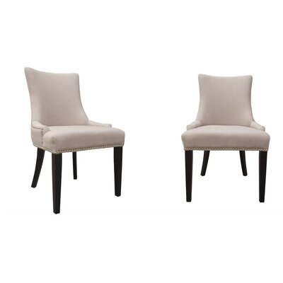 Fairmont Park Travertine Solid Birch Upholstered Dining Chair