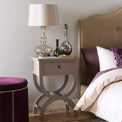 Fairmont Park Cafar 1 Drawer Bedside Table