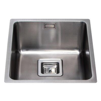 CDA 44 cm x 44 cm Undermount Single Bowl Kitchen Sink