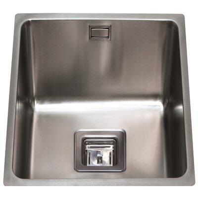 CDA 44 cm x 38 cm Undermount Three Quarter Bowl Kitchen Sink
