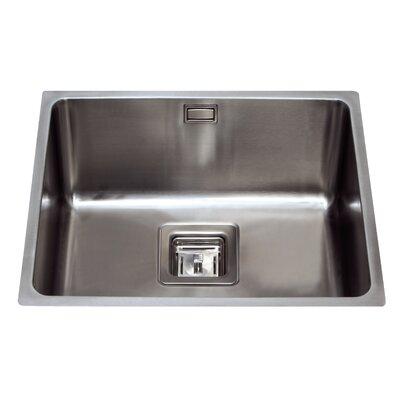 CDA 54 cm x 44 cm Undermount Single Bowl Kitchen Sink