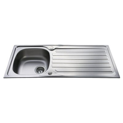 CDA 100 cm x 50 cm Single Bowl Kitchen Sink