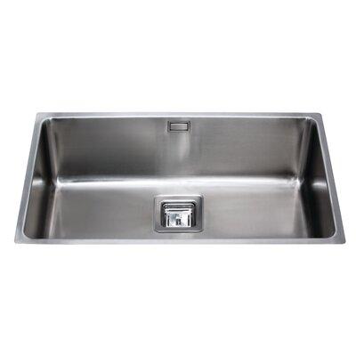 CDA 74 cm x 44 cm Undermount Large Single Bowl Kitchen Sink
