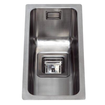 CDA 210 cm x 45 cm Undermount Half Bowl Kitchen Sink