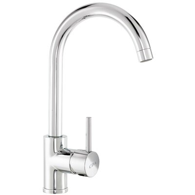 CDA Contemporary Taps Single Handle Monobloc Deck Mounted Kitchen Tap