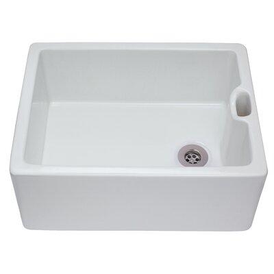 CDA Belfast 59.5cm x 45.5cm Ceramic Kitchen Sink