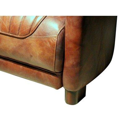 Chum Top Grain Leather Club Chair