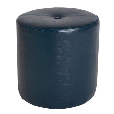 Richard Leatherette Side Stool Color: Blue