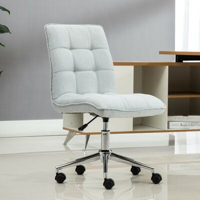 Geraghty Mid-Back Desk Chair Color: Gray
