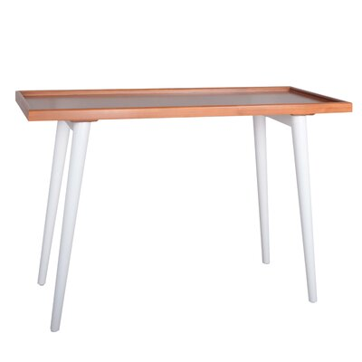 Phoenix Console Table Color: White