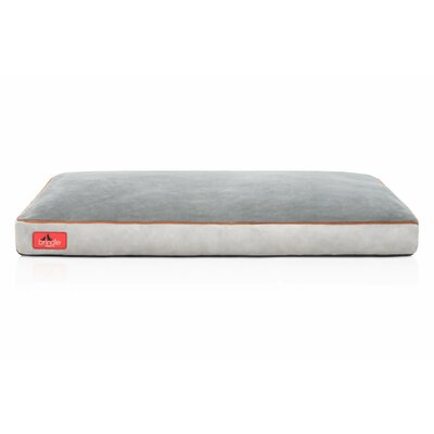 Soft Shredded Memory Foam Pet Bed Color: Stone, Size: Medium (28