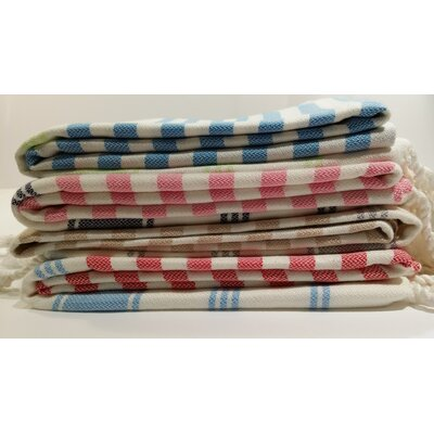 Cotton and Olive Candy Bamboo Bath Towel