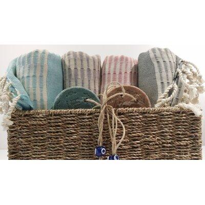 Cotton and Olive Twist Bath Towel